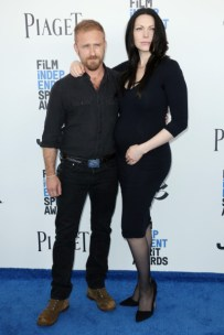 Mandatory Credit: Photo by Matt Baron/BEI/Shutterstock (8434849dl) Ben Foster and Laura Prepon 32nd Film Independent Spirit Awards, Arrivals, Santa Monica, Los Angeles, USA - 25 Feb 2017