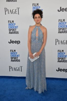 Mandatory Credit: Photo by Paul Smith/Featureflash/Silv/REX/Shutterstock (8435461fx) Jenny Slate 2017 Film Independent Spirit Awards, Santa Monica 25 Feb 2017