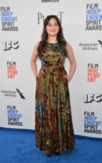 Mandatory Credit: Photo by Paul Smith/Featureflash/Silv/REX/Shutterstock (8435461v) Lily Gladstone 2017 Film Independent Spirit Awards, Santa Monica 25 Feb 2017