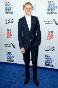 Mandatory Credit: Photo by Matt Baron/BEI/Shutterstock (8434849bb) Lucas Hedges 32nd Film Independent Spirit Awards, Arrivals, Santa Monica, Los Angeles, USA - 25 Feb 2017