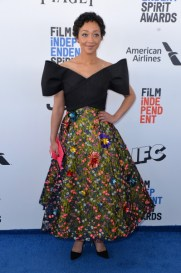 Mandatory Credit: Photo by Stewart Cook/REX/Shutterstock (8434848v) Ruth Negga 32nd Film Independent Spirit Awards, Arrivals, Santa Monica, Los Angeles, USA - 25 Feb 2017