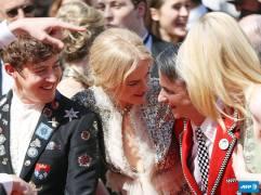 Alex Sharp, Nicole Kidman, John Cameron Mitchell & Elle Fanning
