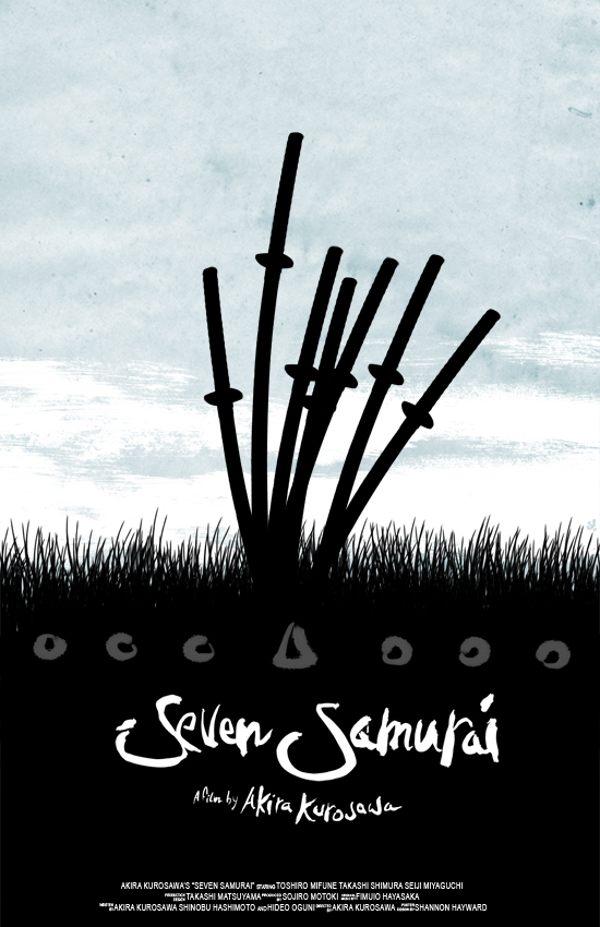 Poster do filme Os Sete Samurais