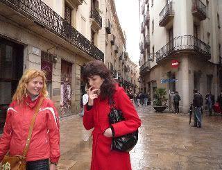 Eva, Pilar, Barcelona