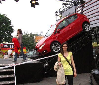 Pilar y el nuevo SEAT Ibiza