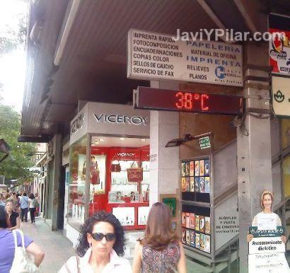 El día más caluroso del año