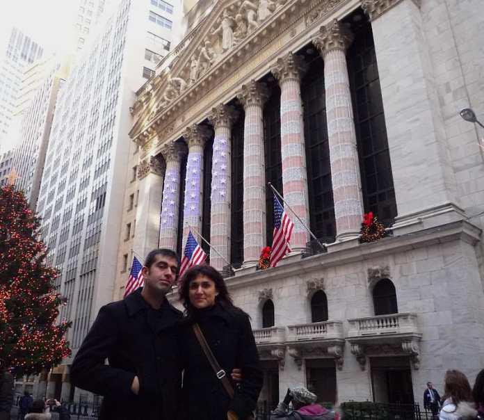 En Wall Street en la navidad de 2008