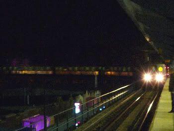 El metro hacia Coney Island