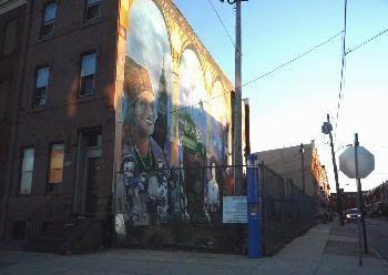 Llamativo graffiti