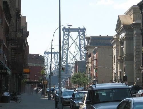 Imagen de una de las calles del barrio. Visitando el barrio judío jasídico de Brooklyn (Nueva York) en Sabbath.