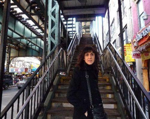 Visitando el barrio judío jasídico de Brooklyn (Nueva York) en Sabbath..
