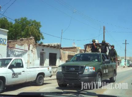 Imagen tomada en Ciudad Juárez durante nuestra visita en el verano de 2009