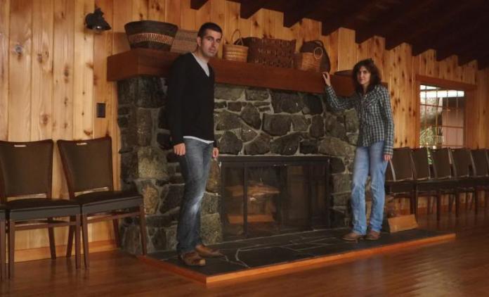 Nosotros en el Hotel Gran Norte de la serie Twin Peaks
