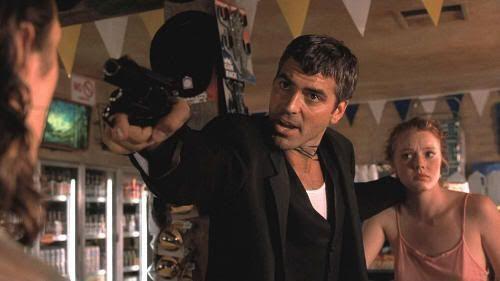 """George Clooney en """"Abierto Hasta el Amanecer"""" (""""From Dusk Till Dawn"""", 1996)"""