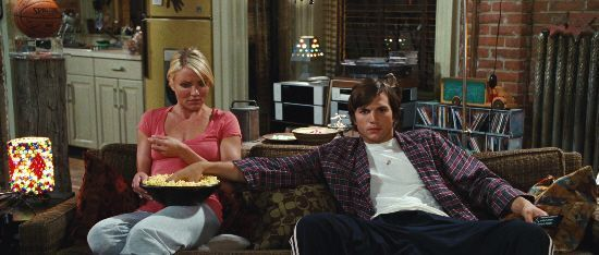 "Ashton Kutcher y Cameron Diaz en ""Algo Pasa en Las Vegas"" (""What Happens In Vegas"", 2008)"