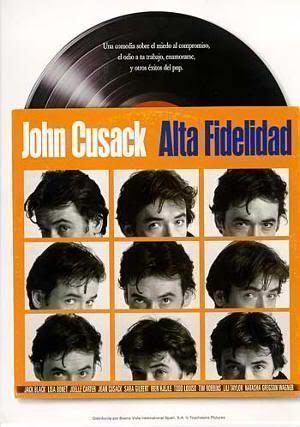 "Cartel de la película ""Alta Fidelidad"" (""High Fidelity"", Stephen Frears, 2000)"
