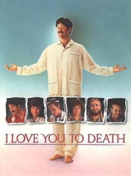 "Cartel original de ""Te amaré hasta que te mate"" (""I Love You To Death"", 1990)"