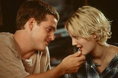 "Amor Loco, con Drew Barrymore y Chris O'Donell. ""Amor Loco"" (""Mad Love"", 1995)"