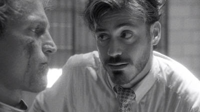 "Woody Harrelson y Robert Downey Jr. en ""Asesinos Natos"" (""Natural Born Killers"", 1994)"