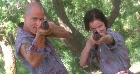 """Woody Harrelson y Juliette Lewis en """"Asesinos Natos"""" (""""Natural Born Killers"""", 1994)"""
