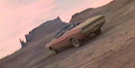 """Dodge Challenger Convertible 1970 en en """"Asesinos Natos"""" (""""Natural Born Killers"""", 1994)"""