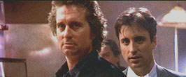 """Michael Douglas y Andy García en """"Black Rain"""" (Ridley Scott, 1989)"""