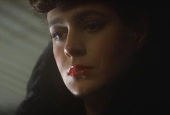 "La guapísima Sean Young en ""Blade Runner"" (Ridley Scott, 1982)"