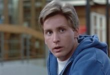 "Emilio Estevez en ""El Club de los Cinco"" (""The Breakfast Club"", 1985)"