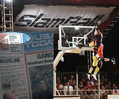"""El Slamball en """"Regreso al Futuro 2"""""""