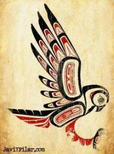 El búho. Mitología del noroeste de los Estados Unidos.