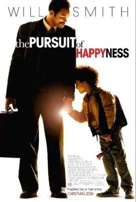 """Cartel original de """"En Busca de la Felicidad"""" (""""The Pursuit of Happyness"""")"""