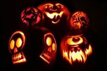 Diseños fantasmagóricos de Jack O'Lantern