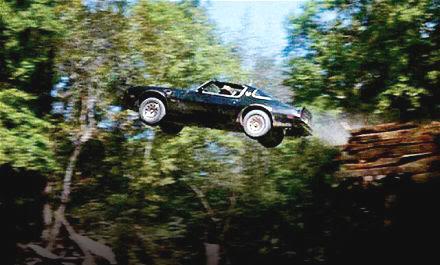 """El fabuloso Pontiac Firebird Trans Am del Bandido en """"Los Caraduras"""" (""""Smokey and the Bandit"""", 1977)"""