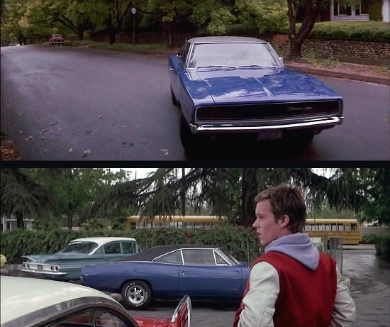 "Dodge Charger 1968 en ""Christine"" (1983)"