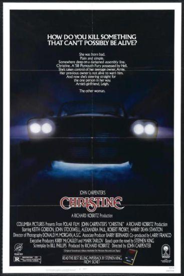 "Cartel de ""Christine"" (1983)"