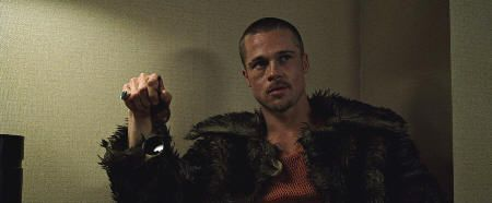 "Brad Pitt en ""El Club de la Lucha"" (""Fight Club"", 1999)"
