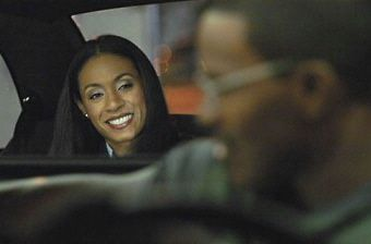 "Jada Pinkett Smith en ""Collateral"" (2004)"