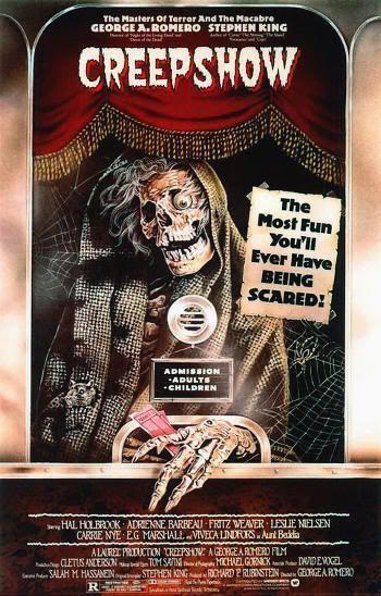 Cartel de la primera película de Creepshow