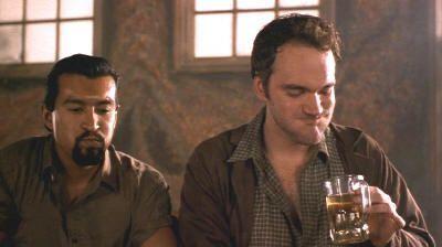 """El propio Tarantino en """"Desperado"""" (Robert Rodriguez, 1995)"""
