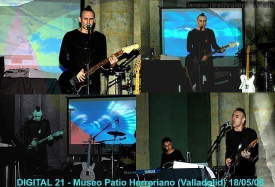 Digital 21 en el Museo Patio Herreriano de Valladolid (17 de mayo de 2006)