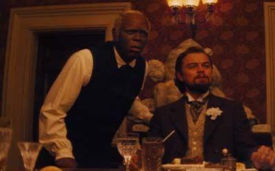 "Samuel L. Jackson y Leonardo DiCaprio en ""Django Desencadenado"" (""Django Unchained"", 2012)"