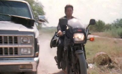 """Kawasaki GPZ900R Ninja de 1989 en """"El Mariachi"""" (Robert Rodríguez, 1992)"""