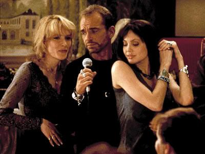 "Cate Blanchett, Billy Bob Thornton y Angelina Jolie en ""Fuera de Control"" (""Pushing Tin"", 1999)"