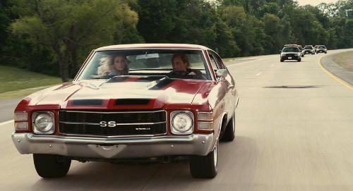 "Chevrolet Chevelle Malibu de 1971 en ""Furia Ciega"" (""Drive Angry"", 2011)"