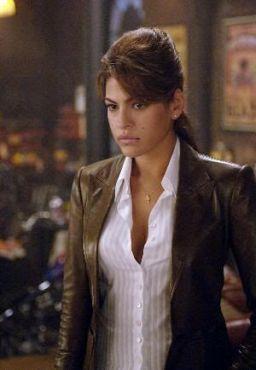 """Eva Mendes en """"El Mototorista Fantasma"""" (""""Ghost Rider"""", 2007)"""