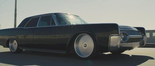 "Lincoln Continental de 1961 en ""In Time"" (2011)"