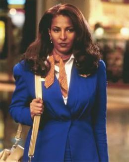"Pam Grier en ""Jackie Brown"" (1997)"