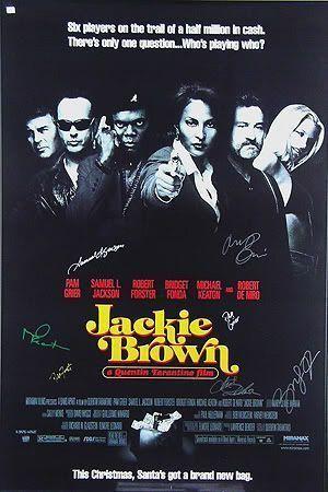 """Cartel de """"Jackie Brown"""" (1997)"""