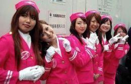 Azafatas de JAL