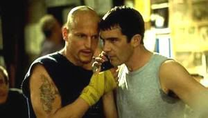 "Woody Harrelson y Antonio Banderas en ""Jugando a Tope"" (""Play it to the Bone"", 1999)"